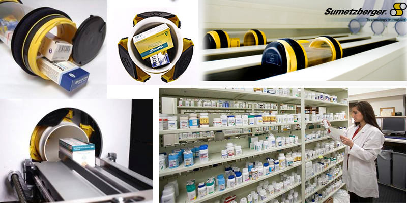Vận chuyển mẫu Sumetzberger trong nhà thuốc