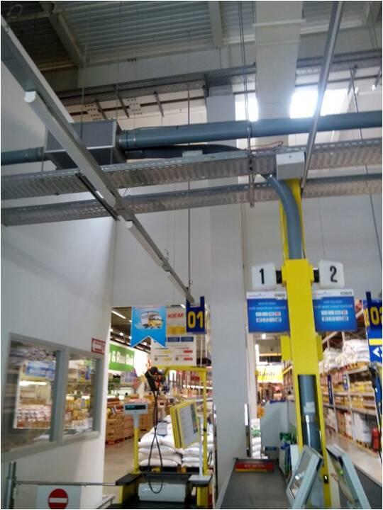 hệ thống Metro Việt Nam lắp hệ thống chuyển mẫu Sumetzberger
